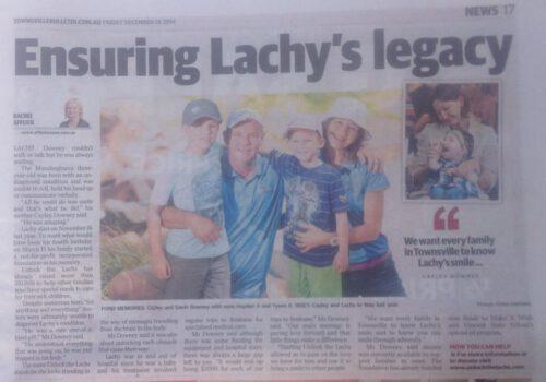 Always ensuring Lachy's Legacy