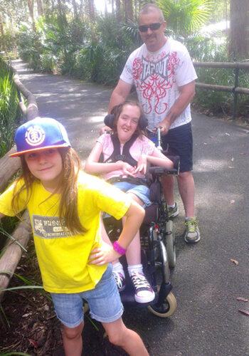 Jess at Aust Zoo